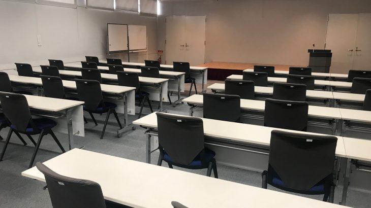 研修室を学習室として開放します!!